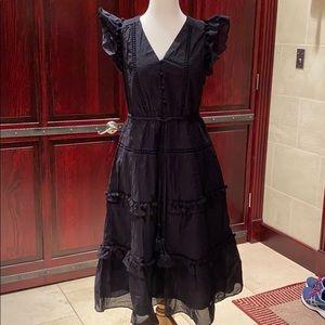 J crew Women's midi dress